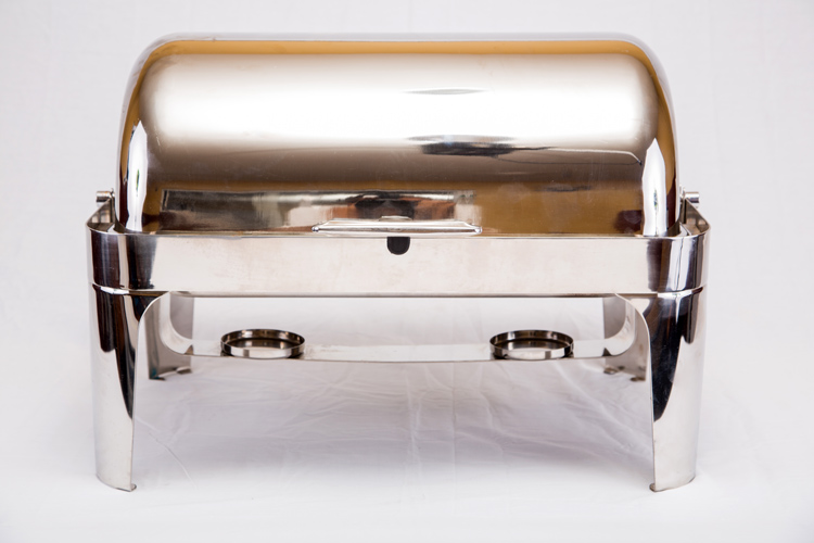 8 QT Rectangle Chafing Dish Roll Top