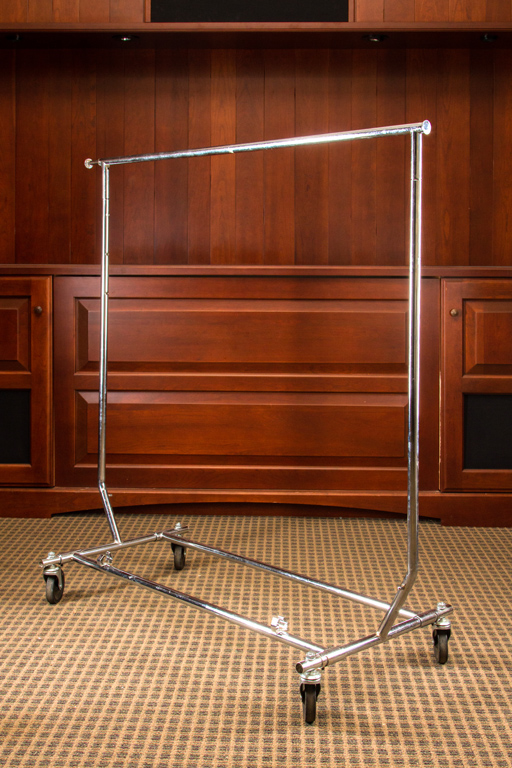 Folding Coat Rack 30 coat capacity