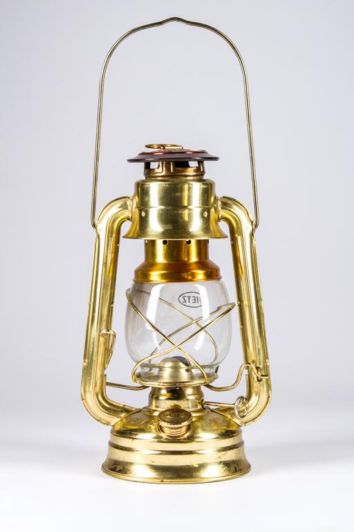 Gold Kerosene Lantern