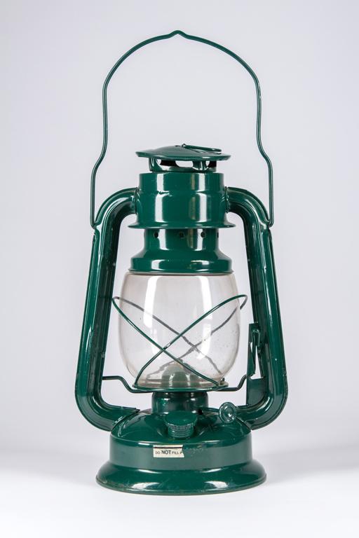 Green Kerosene Lantern