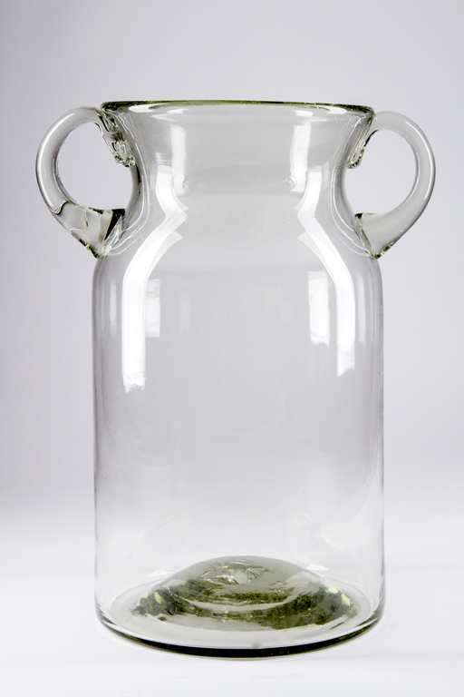Large Glass Milk Jug