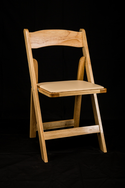 Natural Wood Garden Chair