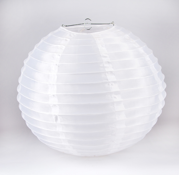 Nylon White Paper Lantern
