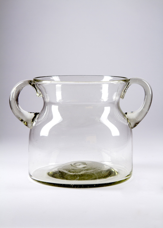 Small Glass Milk Jug