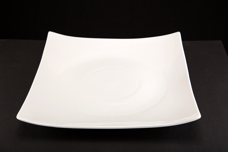 Square China Serving Tray 16x16""