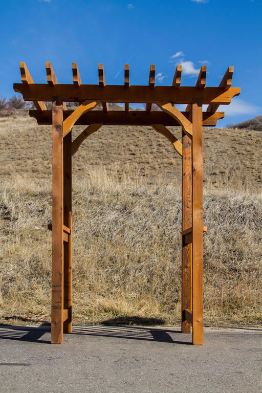 Trellis Cedar Arch