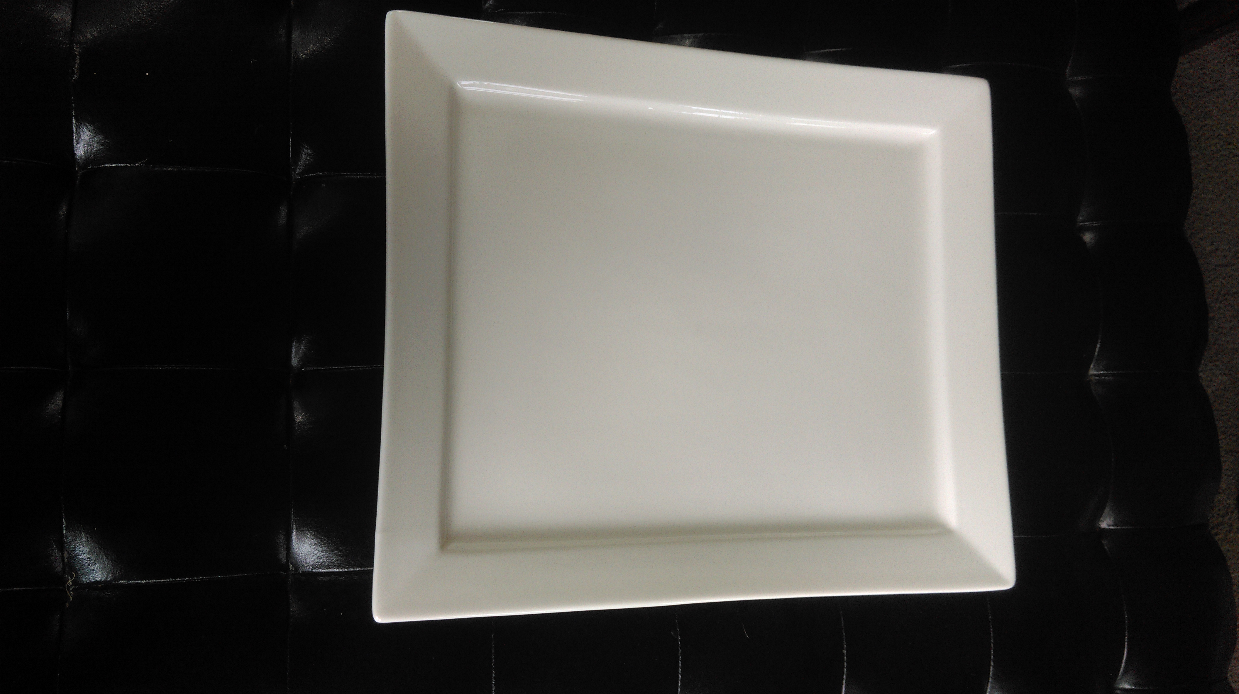 White China Serving Platter