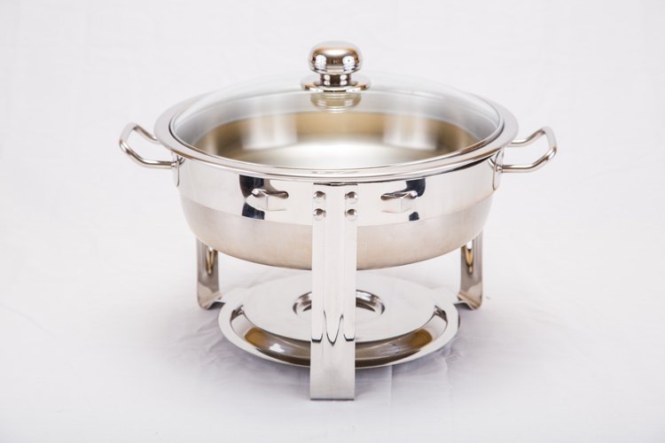 5 QT Round Chafing Dish