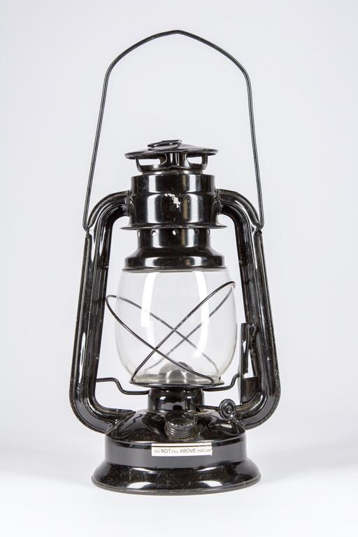 Black Kerosene Lantern
