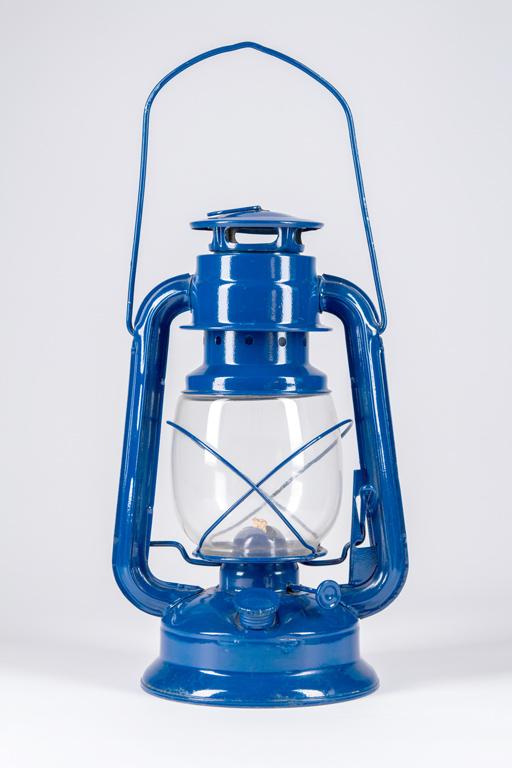 Blue Kerosene Lantern