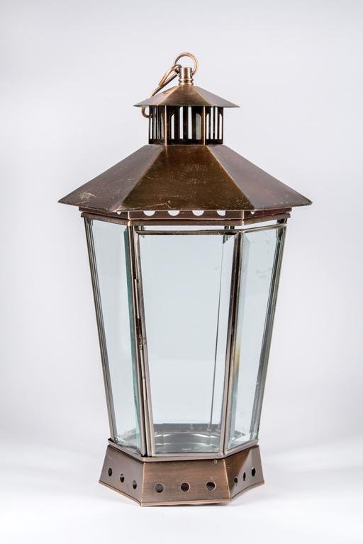 Large Brass Lantern