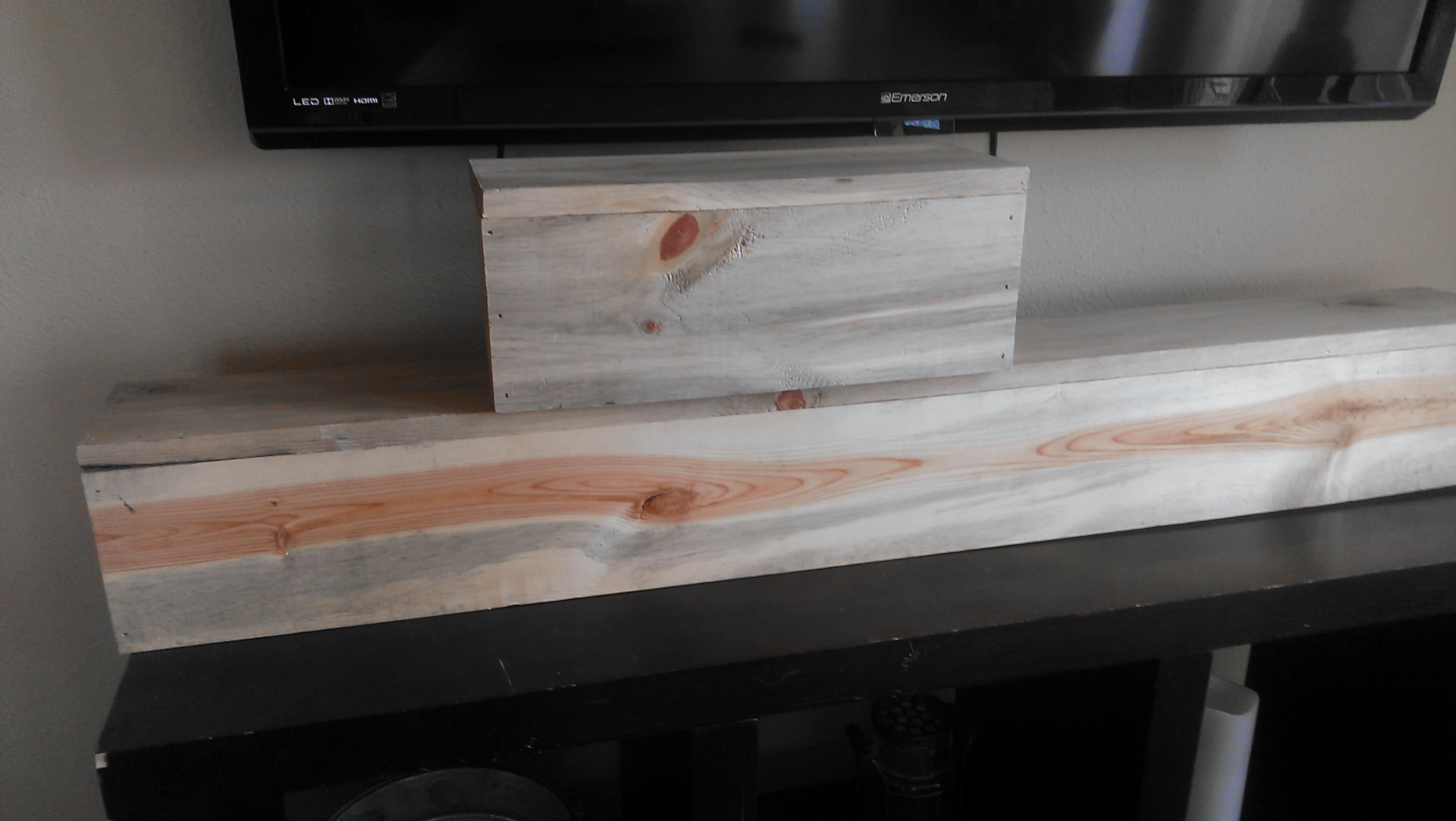 Natural Wood Bar Backs