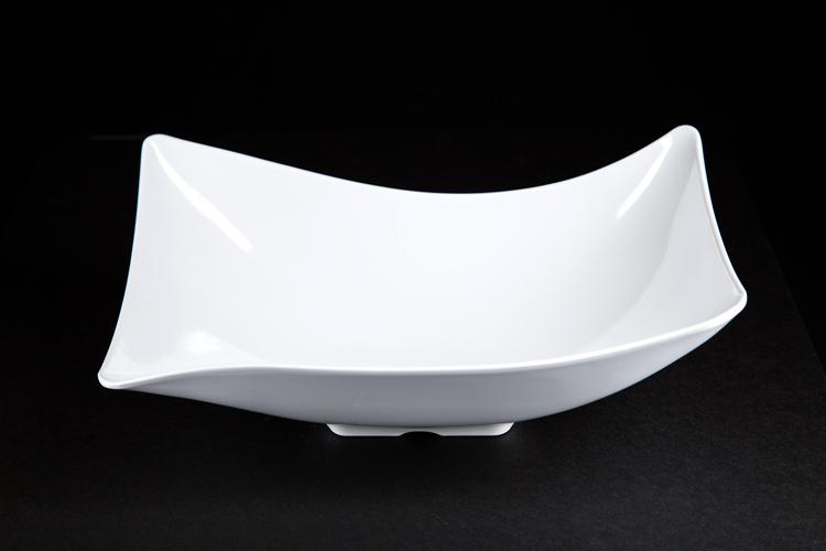 Melamine Rectangle Service Bowl 8x12""