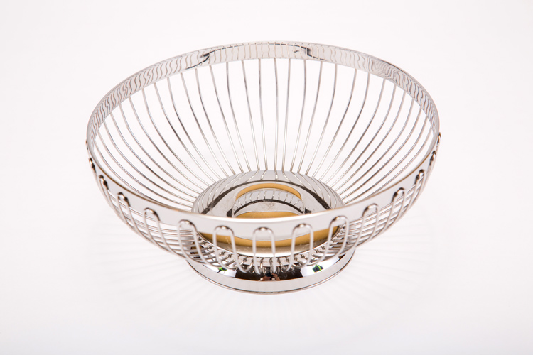 Stainless Steel Round Bread Basket