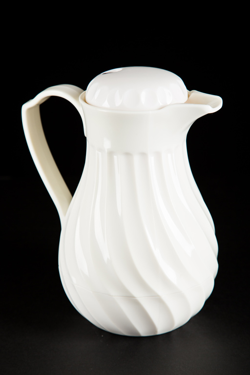 White Coffee Urn