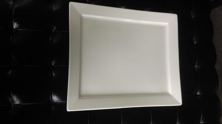 White China Serving Platter