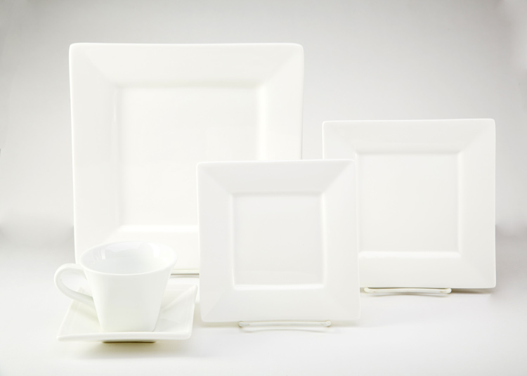 White Whittier China Set